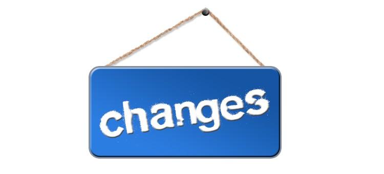 Zmiany w programie
